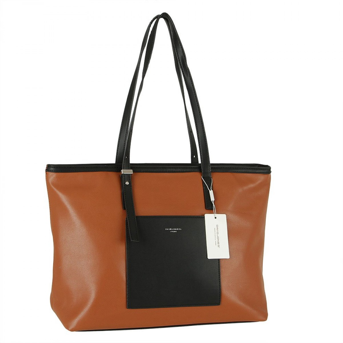 Жіноча сумка David Jones CM5871 COGNAC