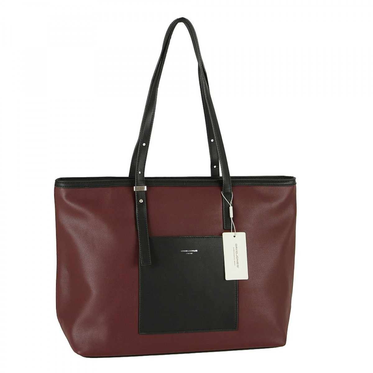 Жіноча сумка David Jones CM5871 DARK BORDEAUX