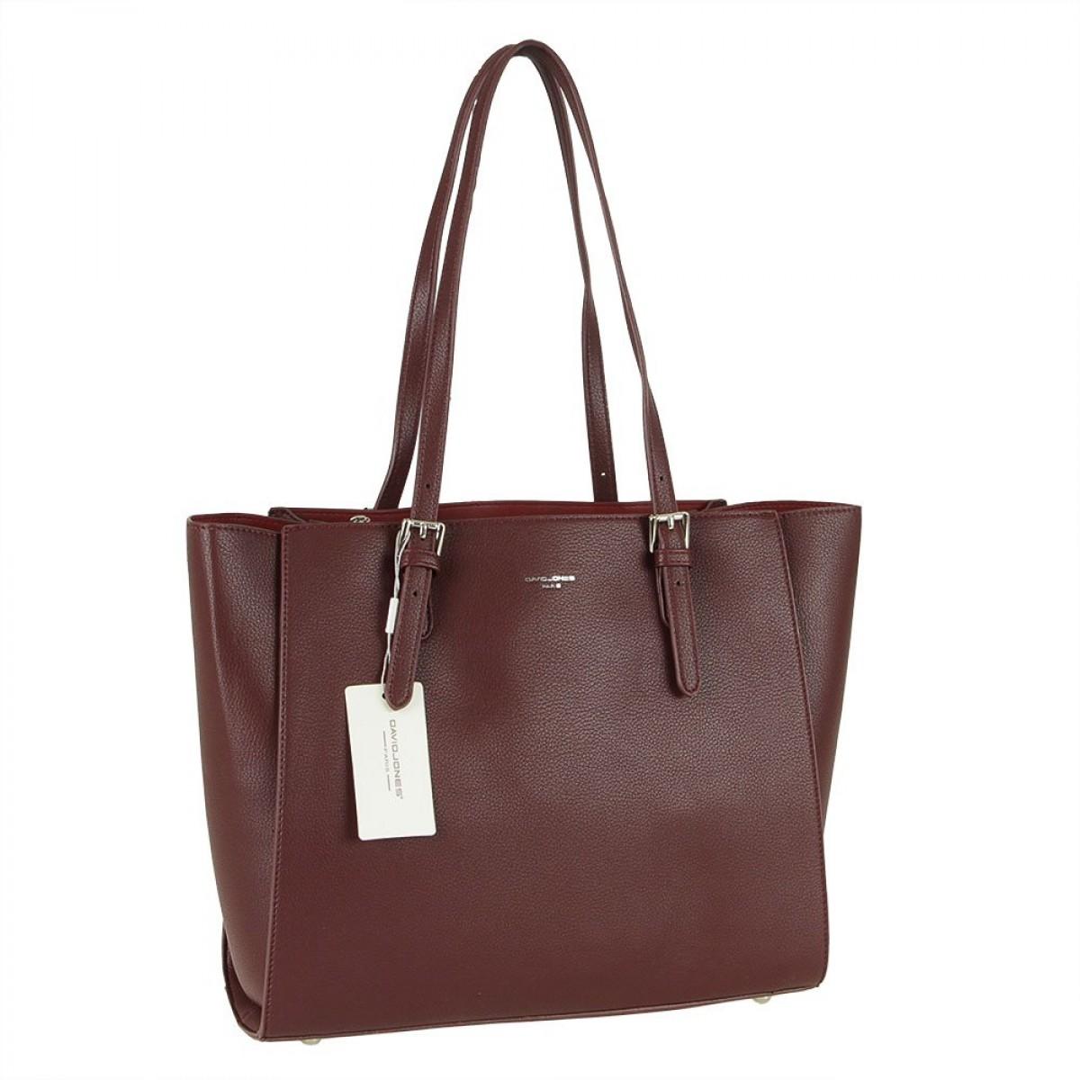 Жіноча сумка David Jones CM5872 DARK BORDEAUX