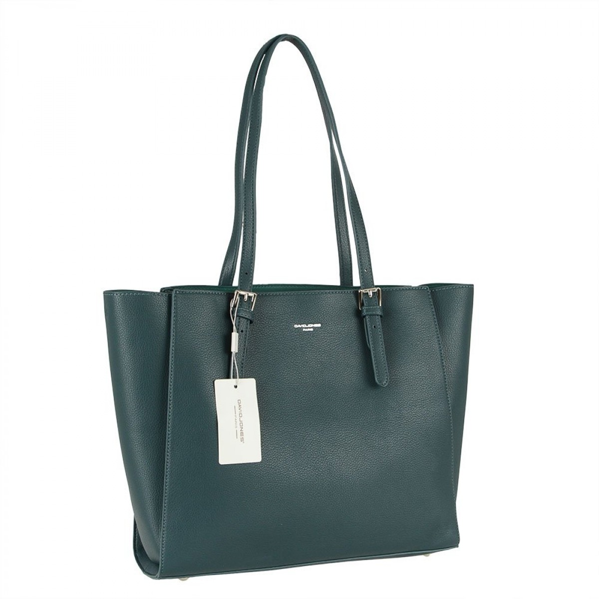Жіноча сумка David Jones CM5872 PEACOCK BLUE