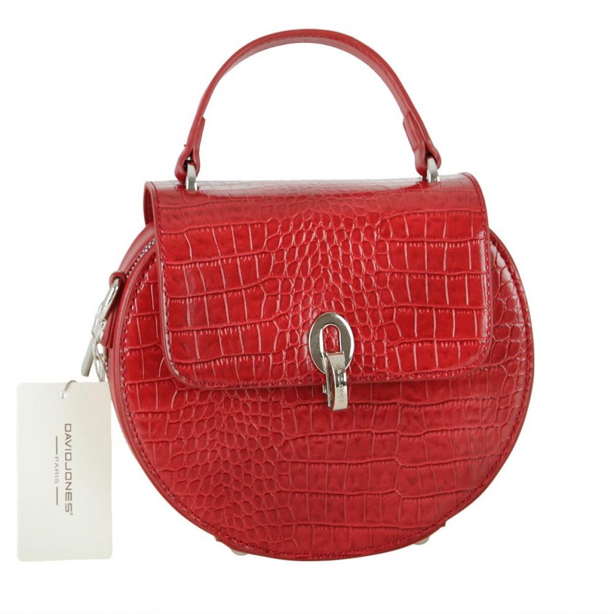 Жіноча сумка David Jones CM5875 DARK RED