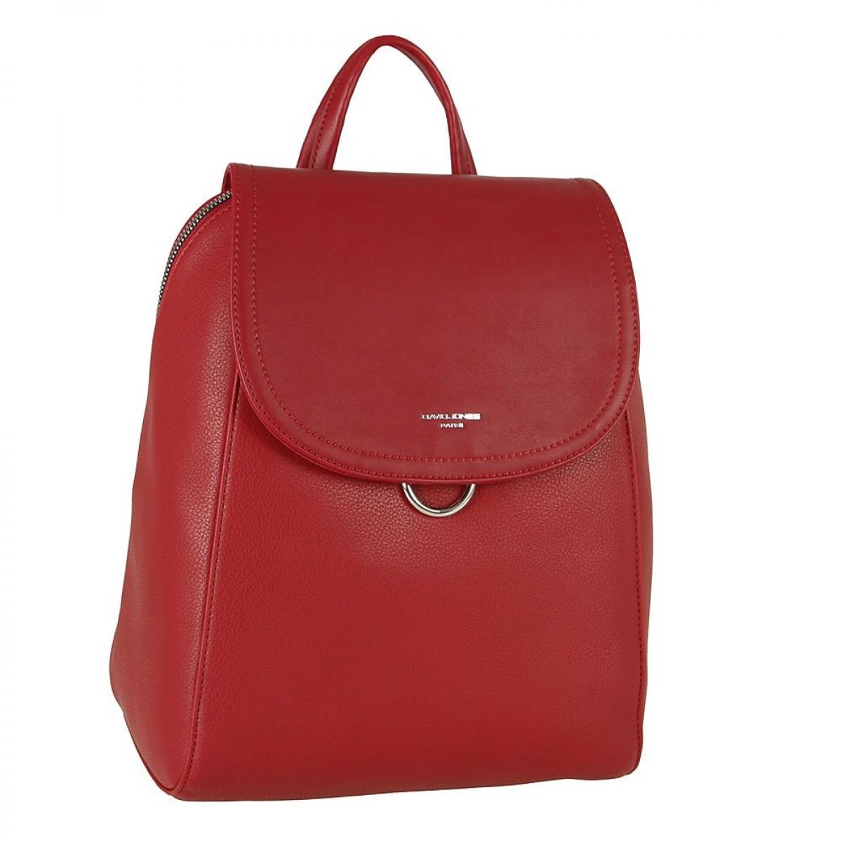 Жіночий рюкзак David Jones CM5876 DARK RED