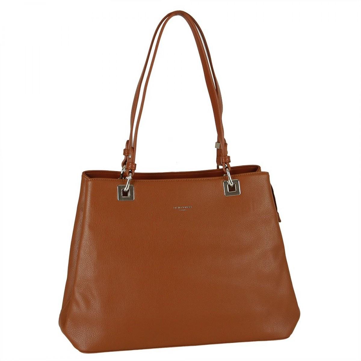 Жіноча сумка David Jones CM5879 COGNAC