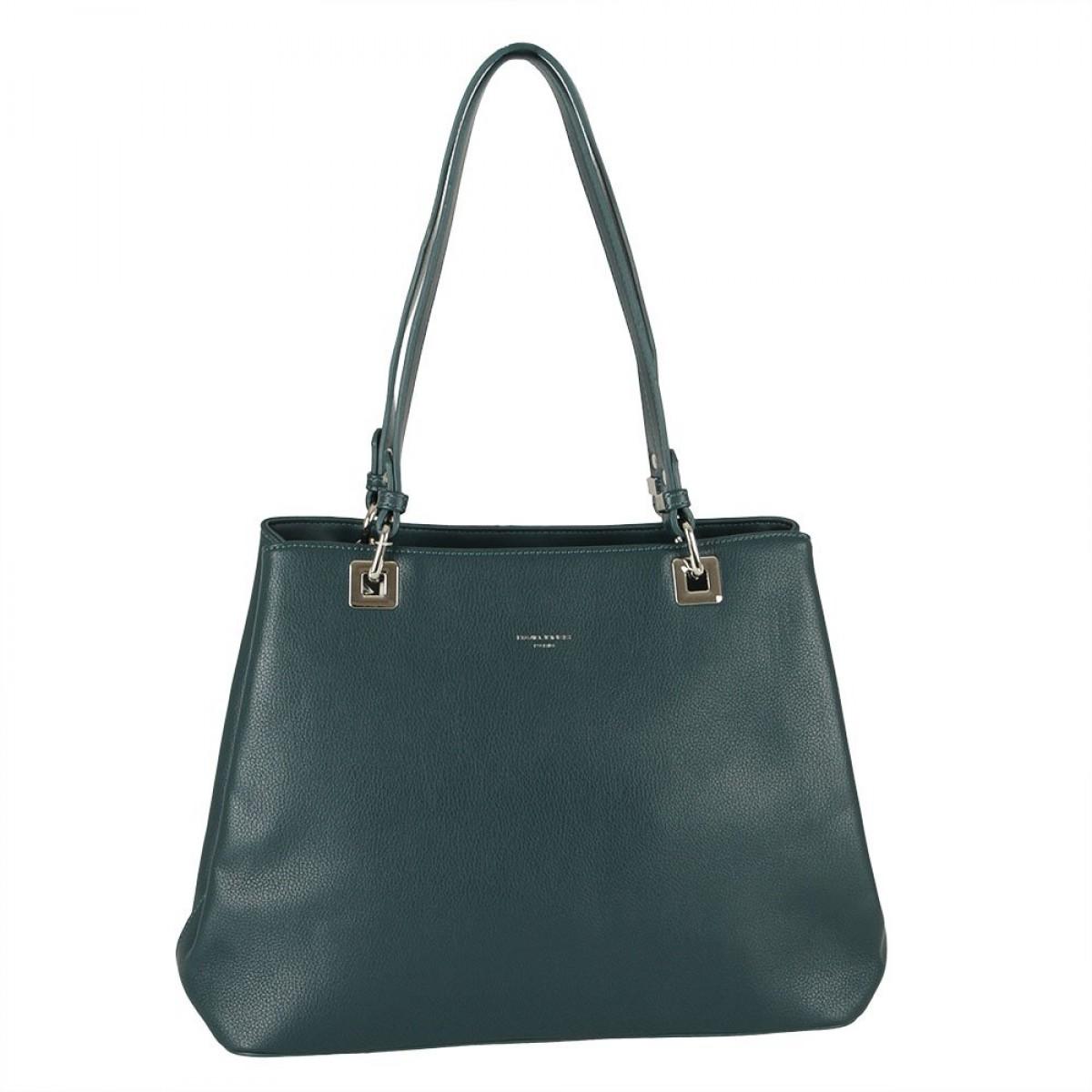 Жіноча сумка David Jones CM5879 PEACOCK BLUE