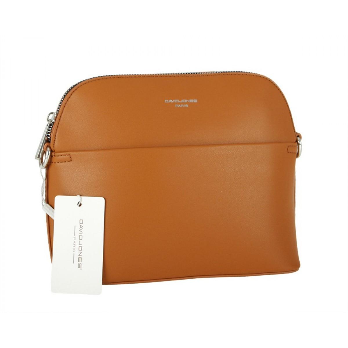 Жіноча сумка David Jones CM5881 COGNAC