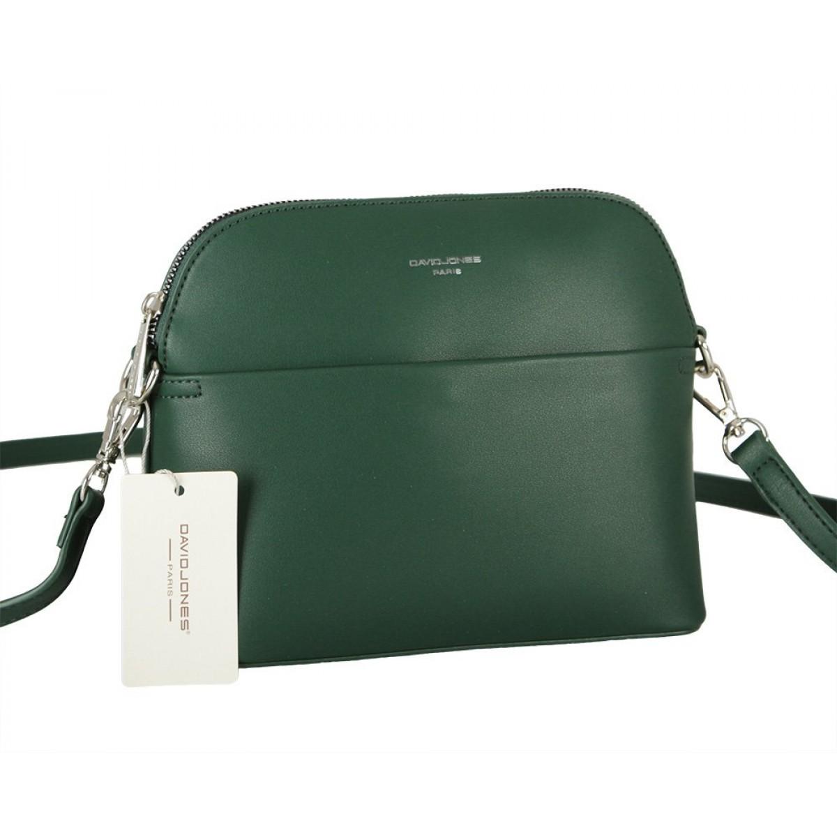 Жіноча сумка David Jones CM5881 D.GREEN