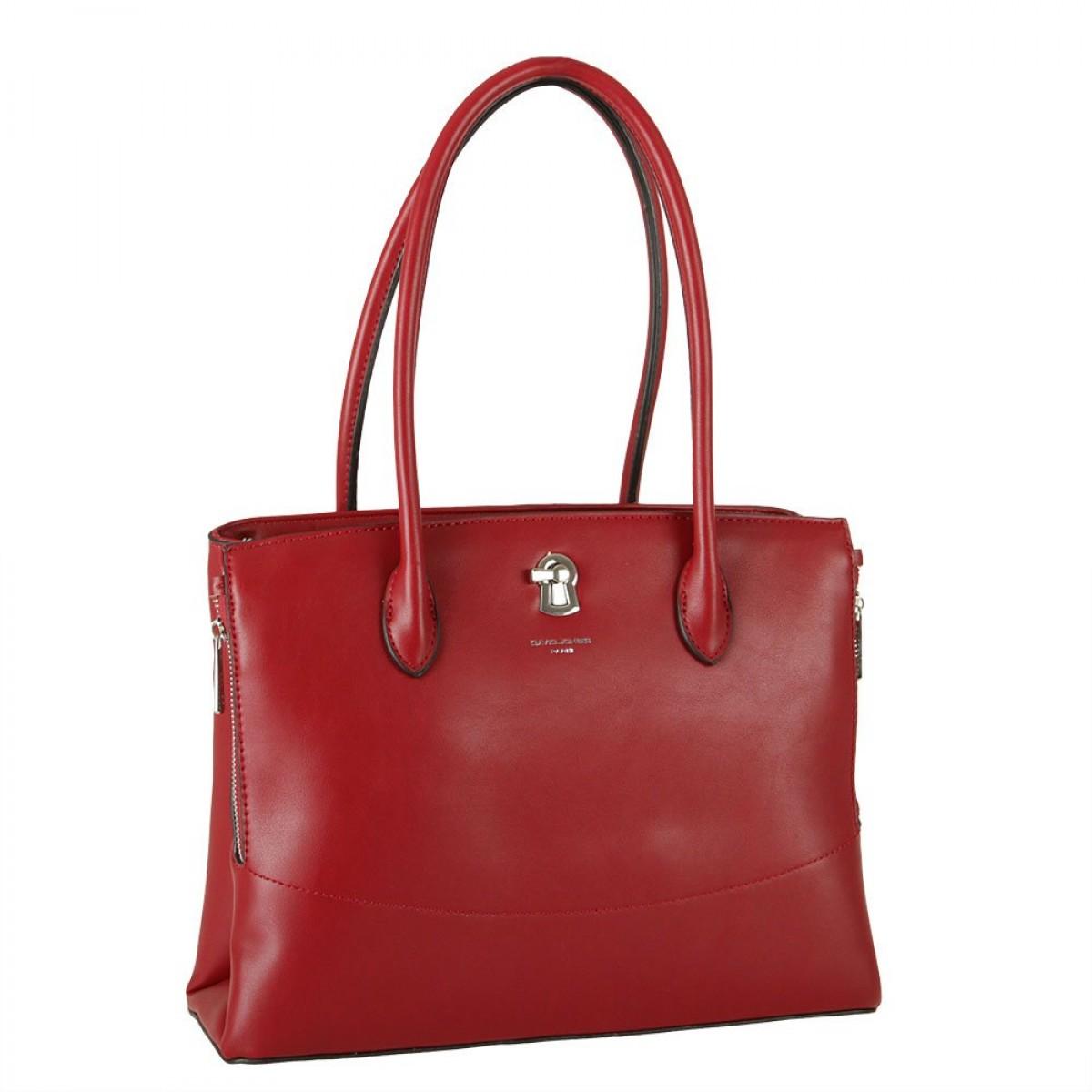 Жіноча сумка David Jones CM5885 DARK RED