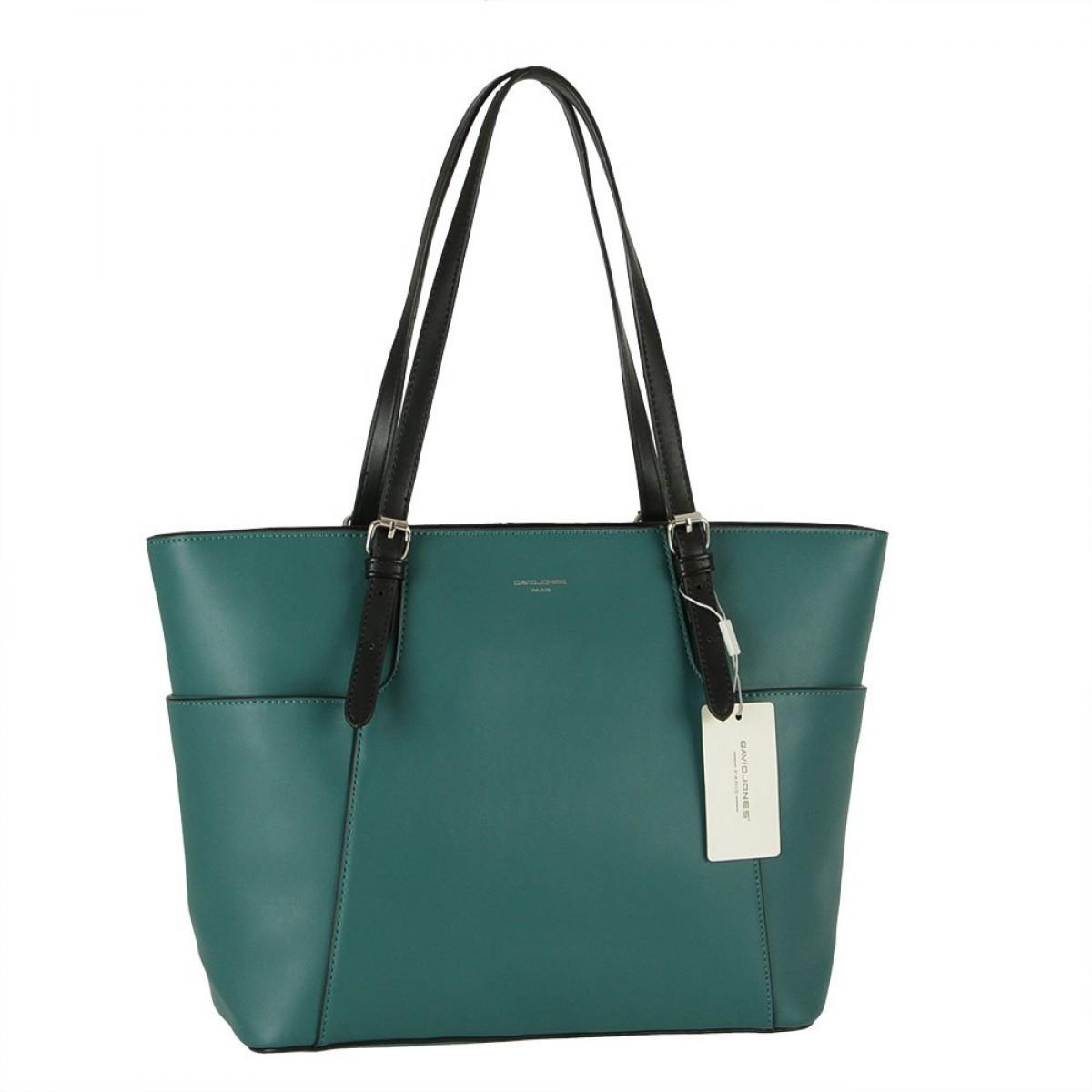 Жіноча сумка David Jones CM5887 D. GREEN