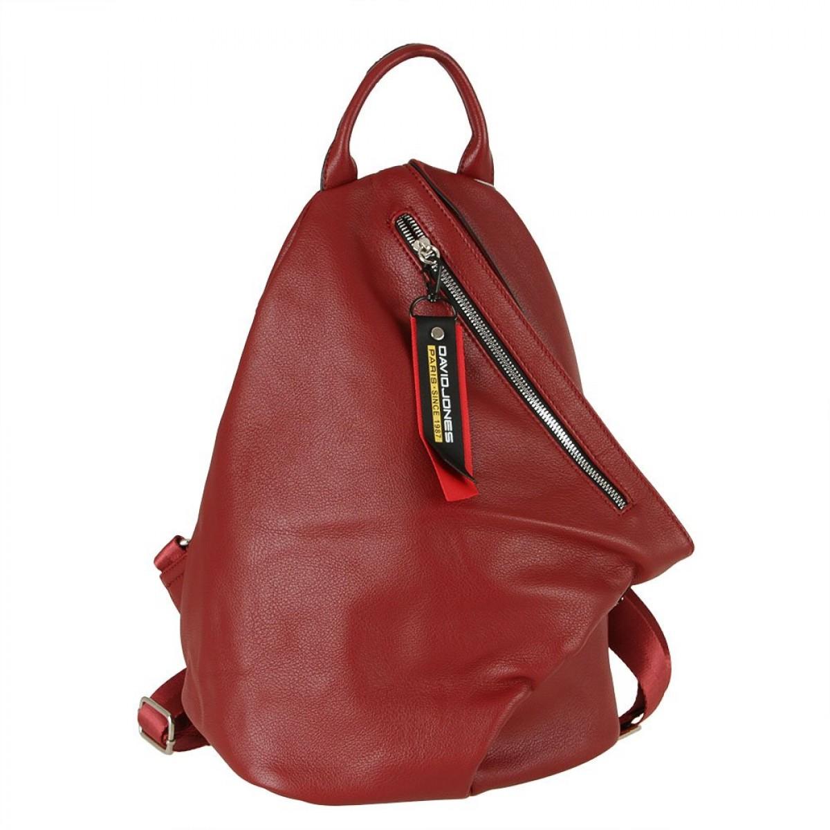 Жіночий рюкзак David Jones CM5888 DARK RED