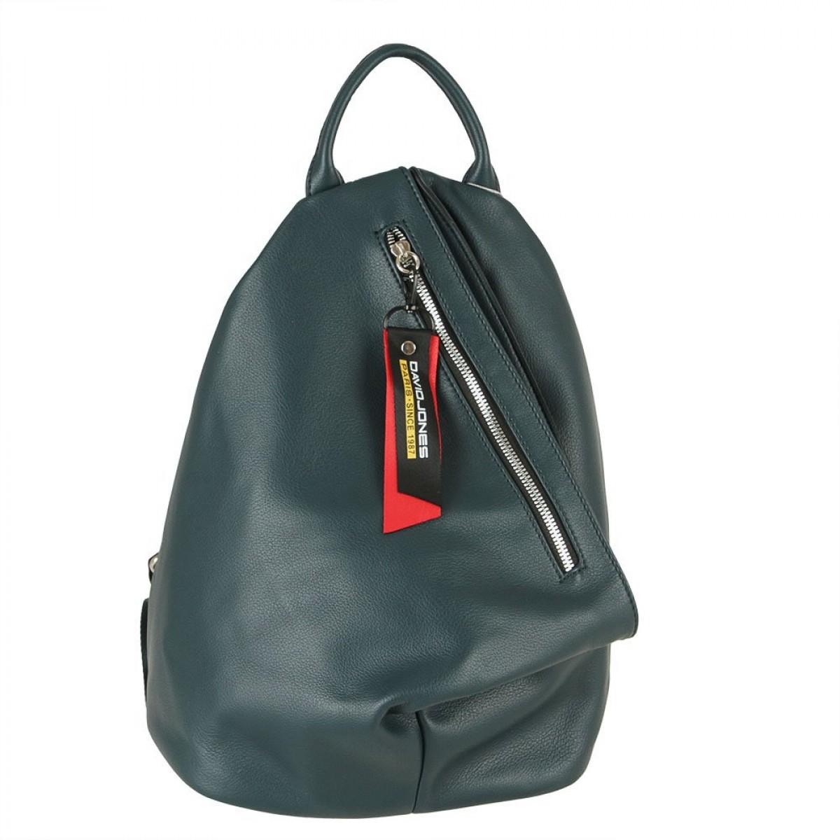 Жіночий рюкзак David Jones CM5888 PEACOCK BLUE