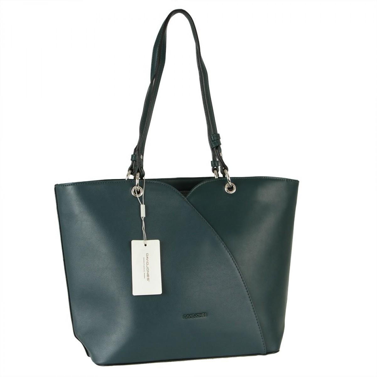 Жіноча сумка David Jones CM5893 D.GREEN