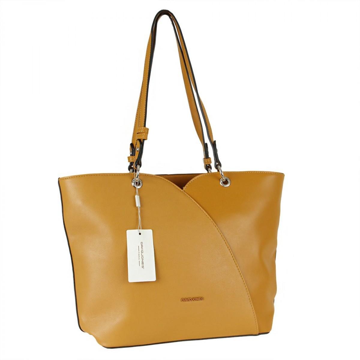 Жіноча сумка David Jones CM5893 YELLOW
