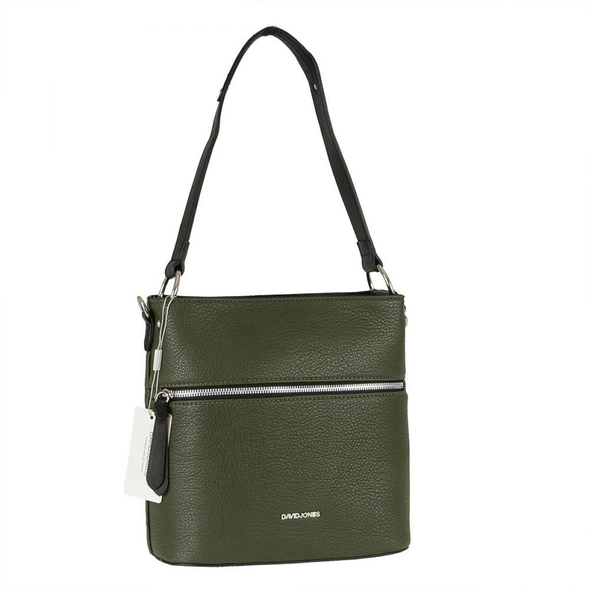 Жіноча сумка David Jones CM5900 D.GREEN