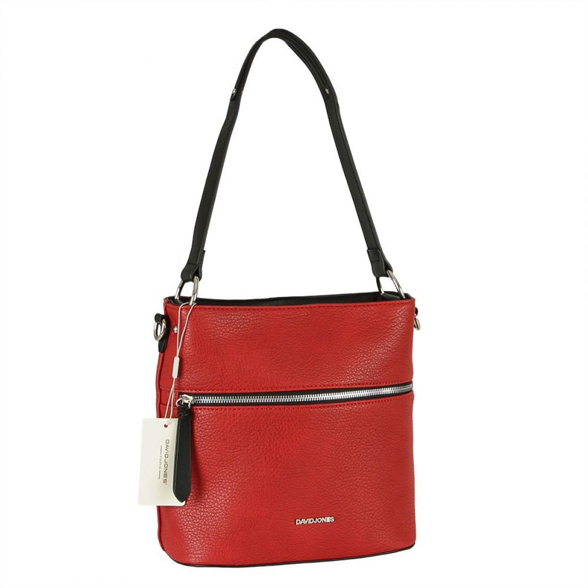 Жіноча сумка David Jones CM5900 RED