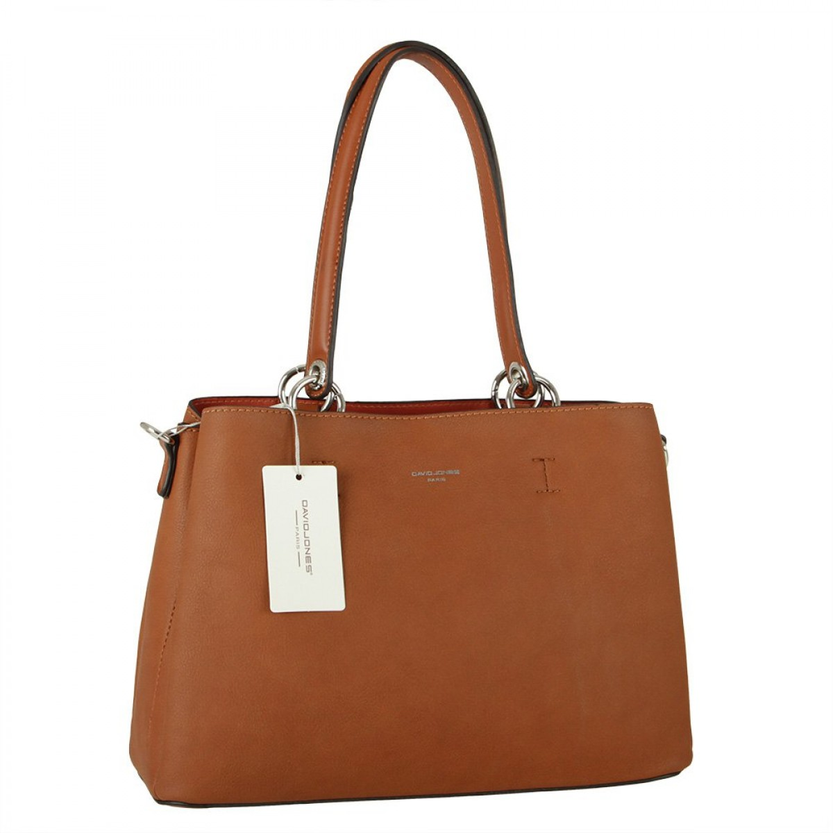 Жіноча сумка David Jones CM5901 COGNAC