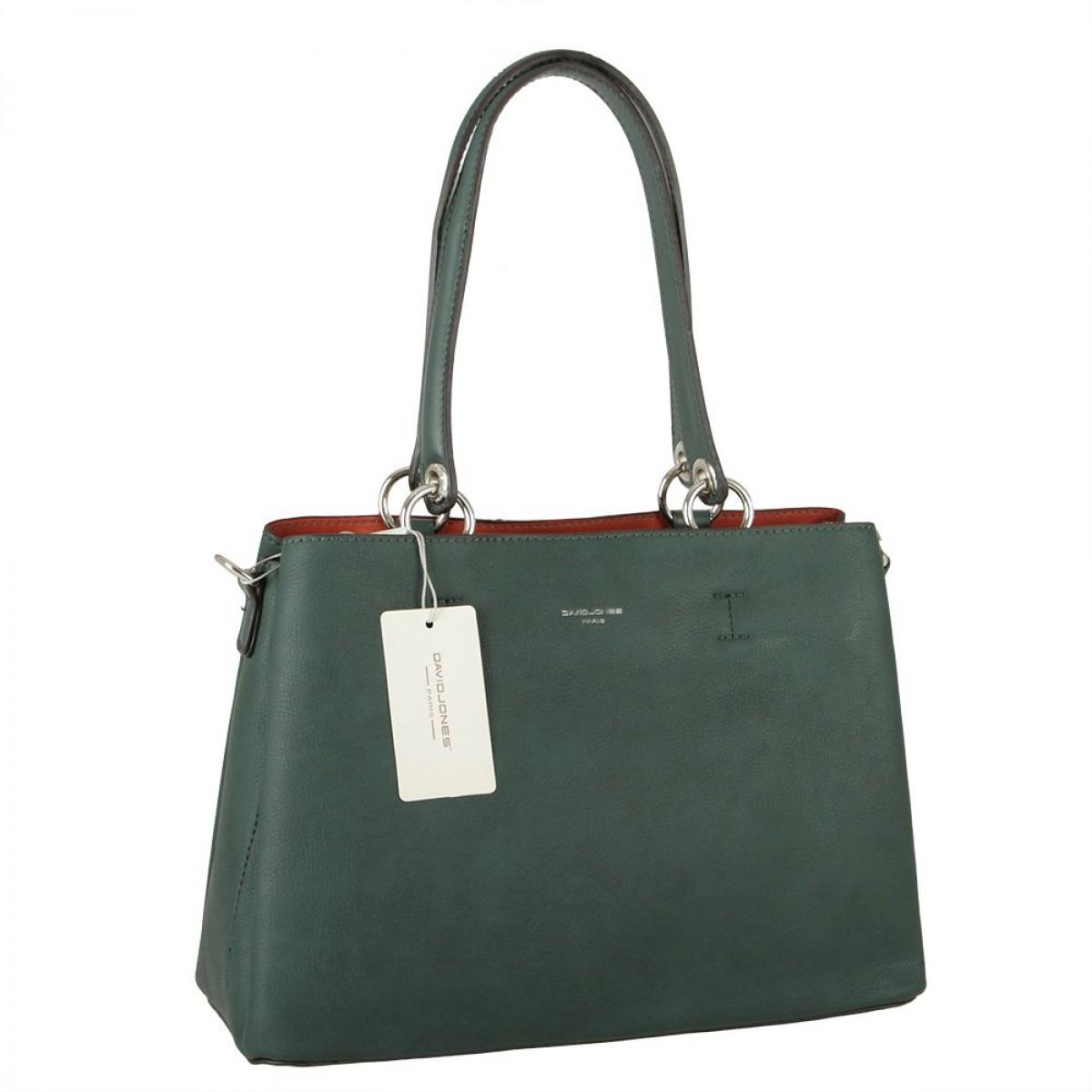 Жіноча сумка David Jones CM5901 D.GREEN