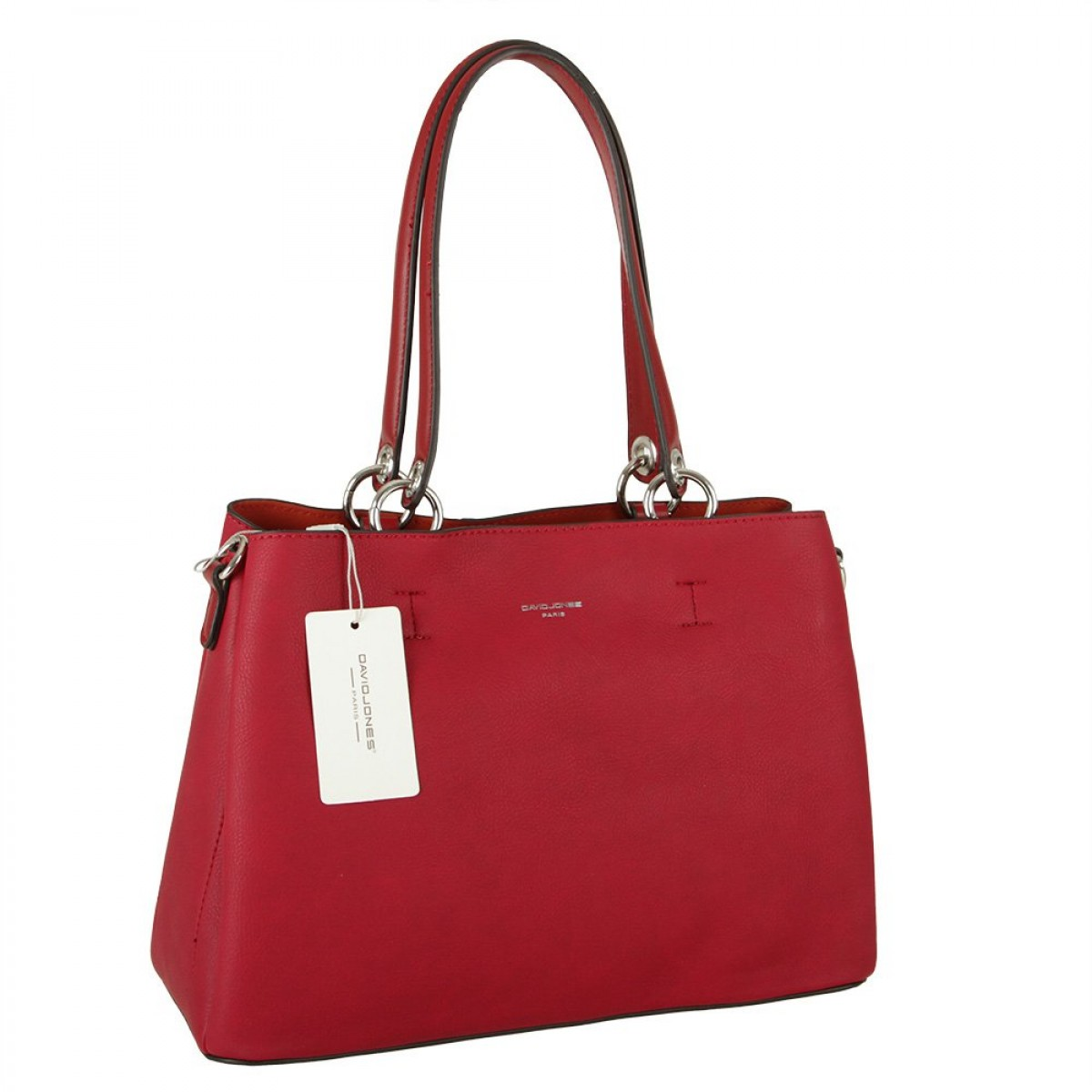Жіноча сумка David Jones CM5901 DARK RED