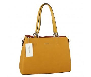Жіноча сумка David Jones CM5901 YELLOW