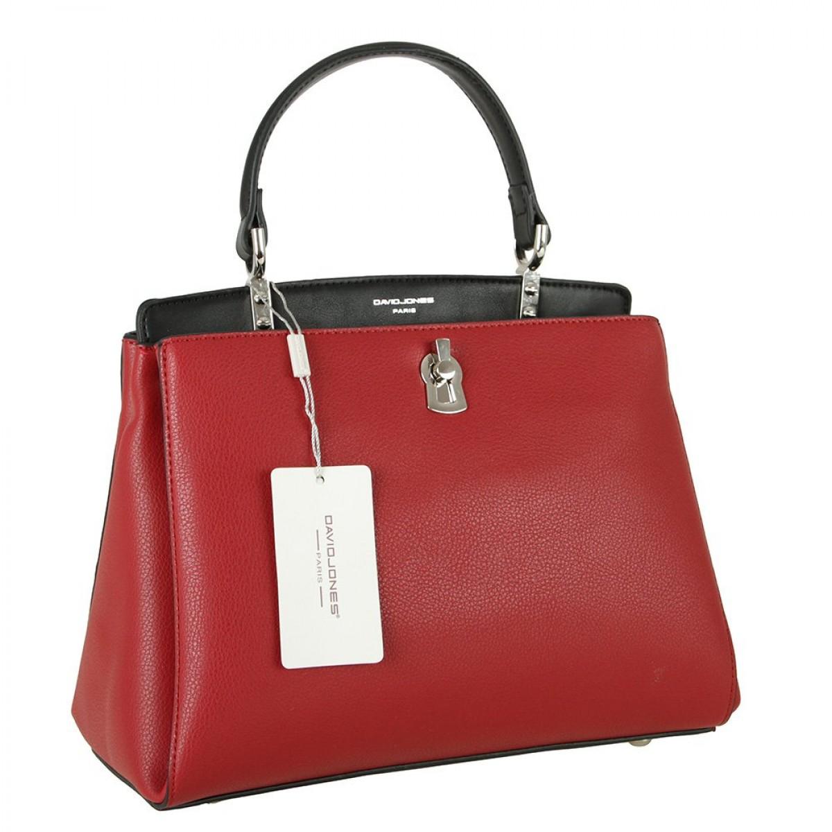 Жіноча сумка David Jones CM5905 RED