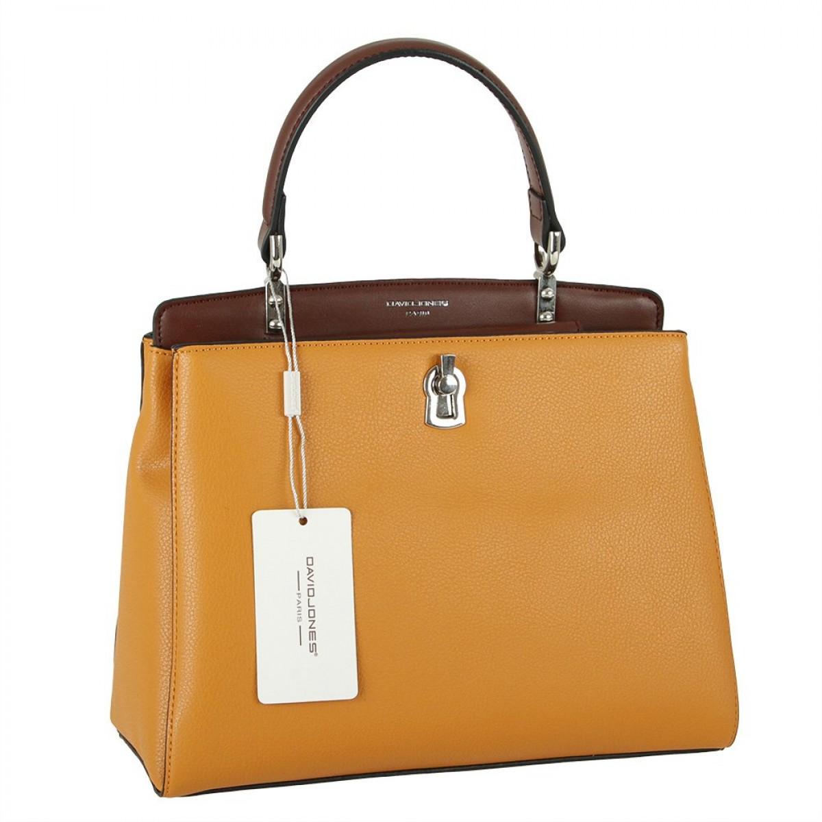Жіноча сумка David Jones CM5905 YELLOW