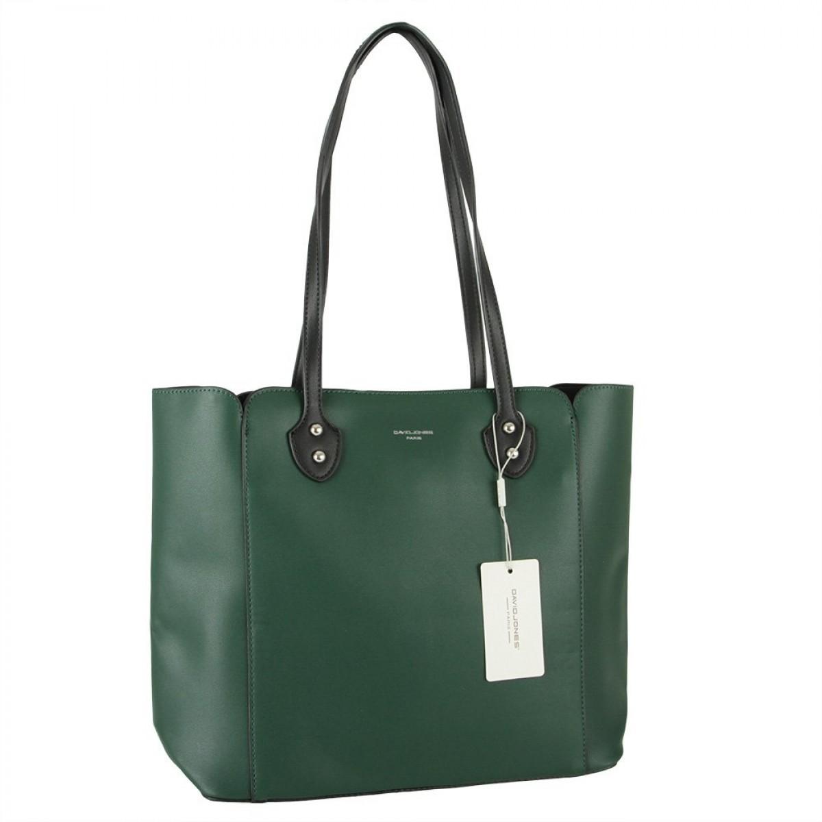 Жіноча сумка David Jones CM5907 D.GREEN
