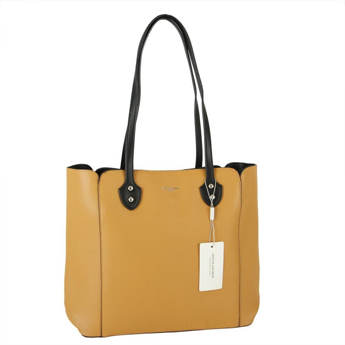 Жіноча сумка David Jones CM5907 YELLOW