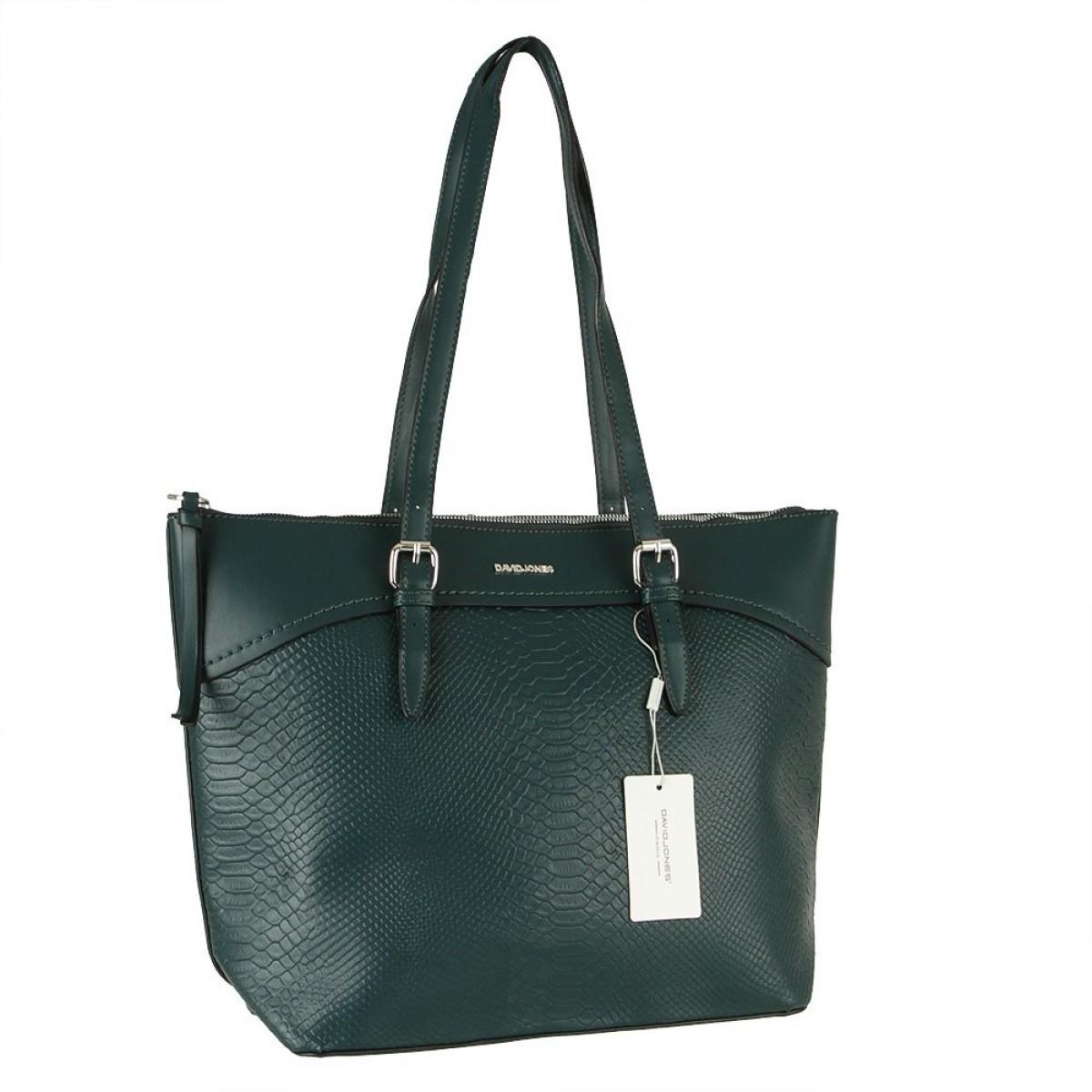 Жіноча сумка David Jones CM5908 D.GREEN