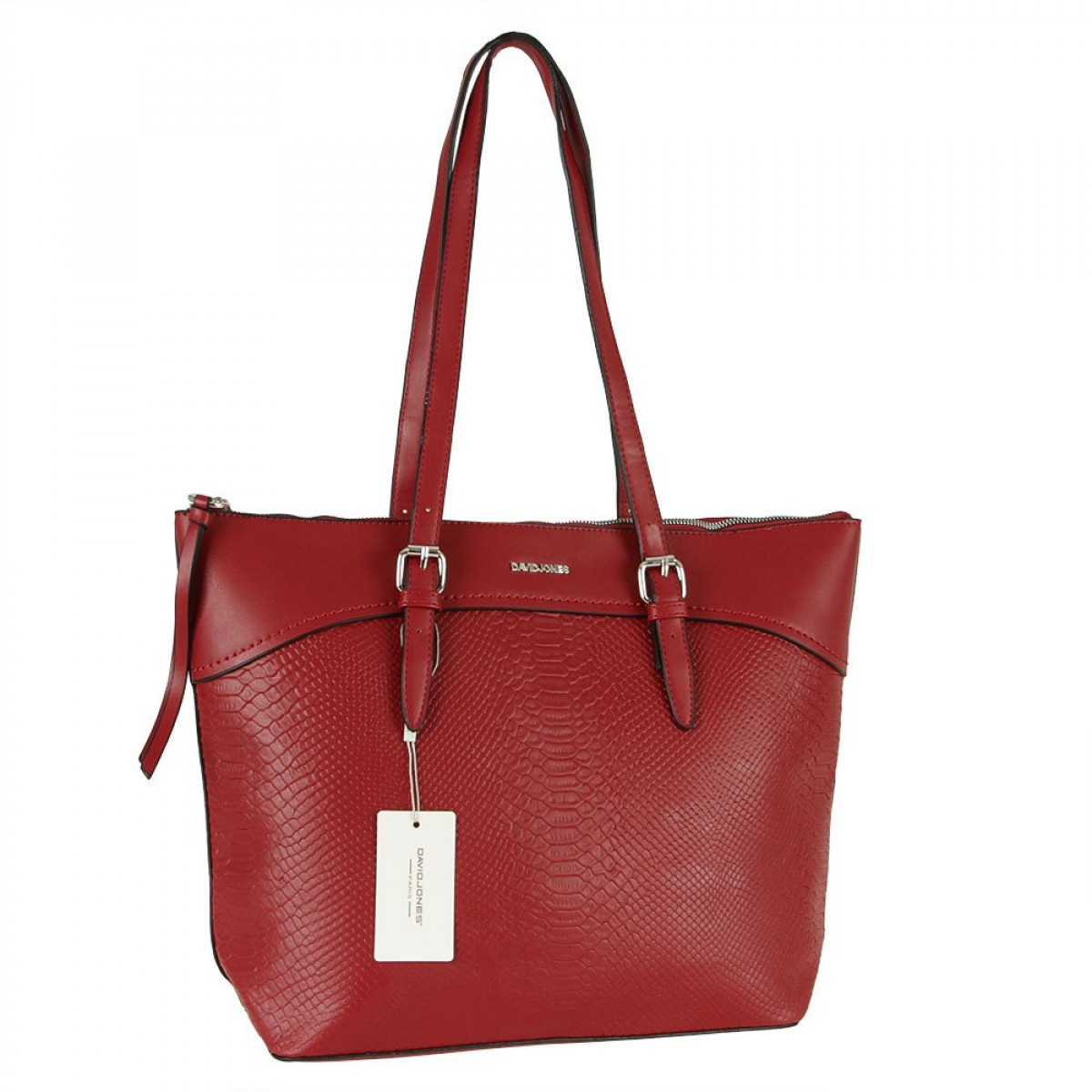 Жіноча сумка David Jones CM5908 DARK RED