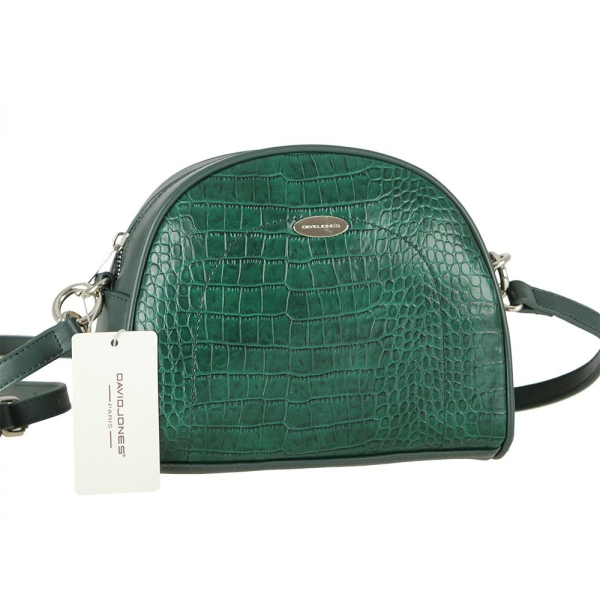 Жіноча сумка David Jones CM5909 D.GREEN
