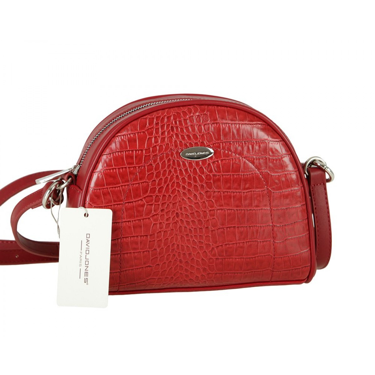 Жіноча сумка David Jones CM5909 DARK RED