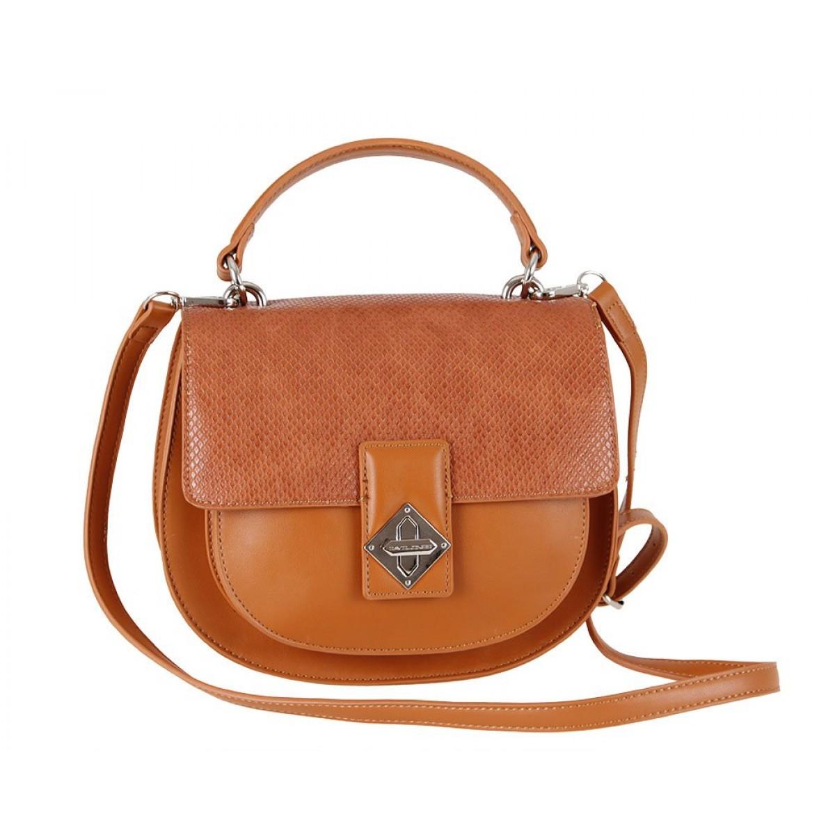 Жіноча сумка David Jones CM5917 COGNAC