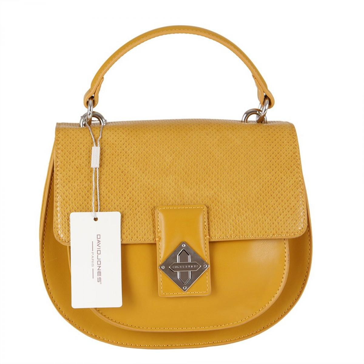 Жіноча сумка David Jones CM5917 YELLOW