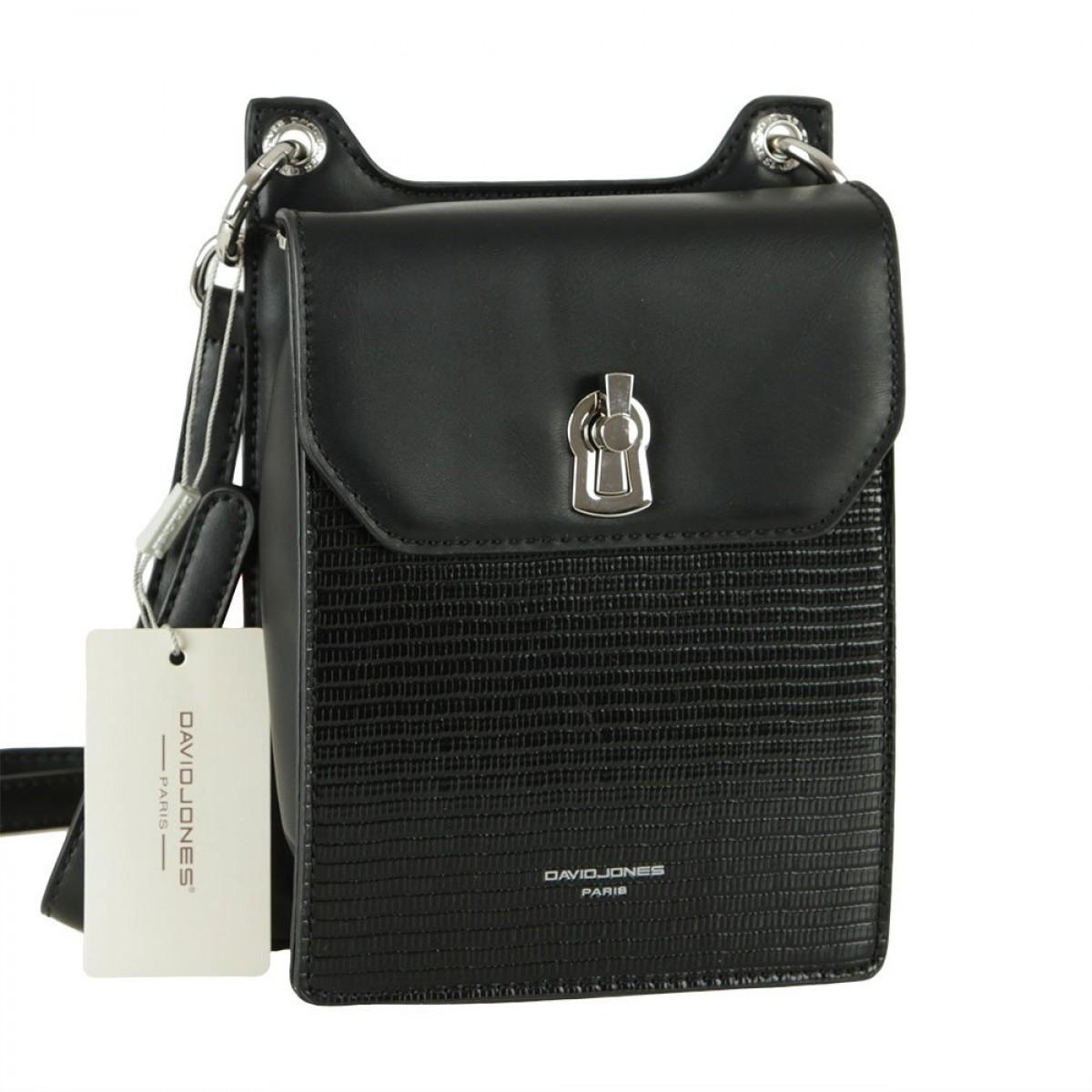 Жіноча сумка David Jones CM5935 BLACK