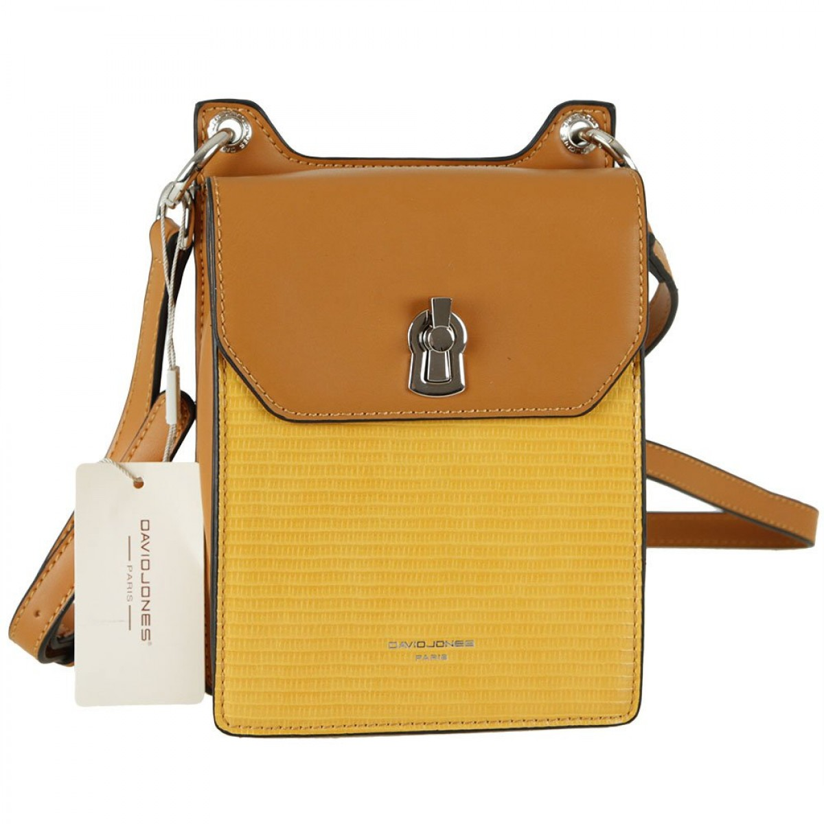 Жіноча сумка David Jones CM5935 MUSTARD