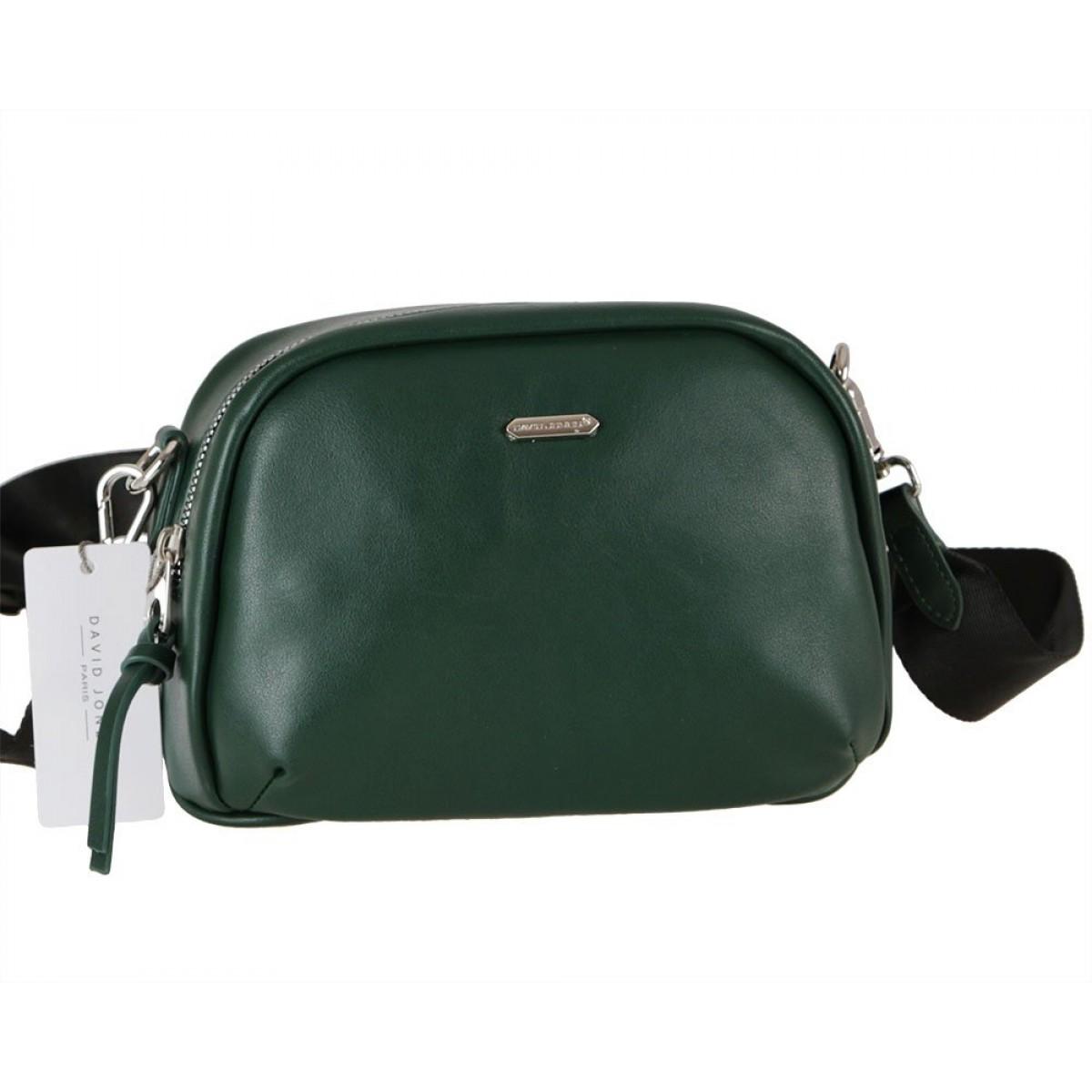 Жіноча сумка David Jones CM6000  D.GREEN