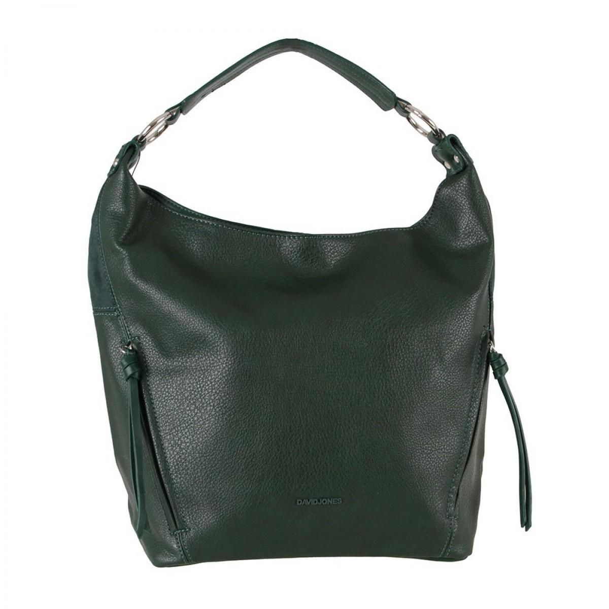 Жіноча сумка David Jones CM6003 D.GREEN