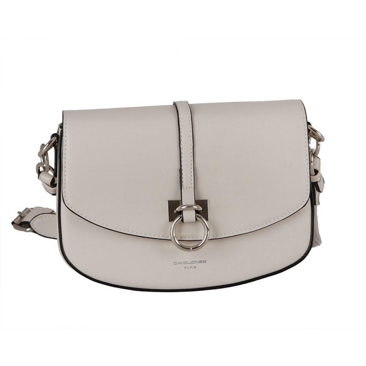 Жіноча сумка David Jones CM6035 CREMY WHITE