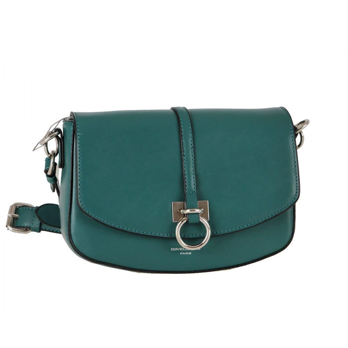 Жіноча сумка David Jones CM6035 D.GREEN