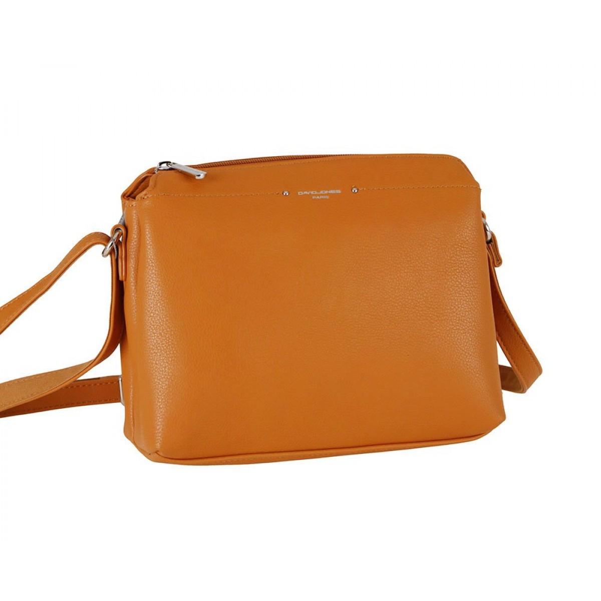 Жіноча сумка David Jones CM6058 COGNAC