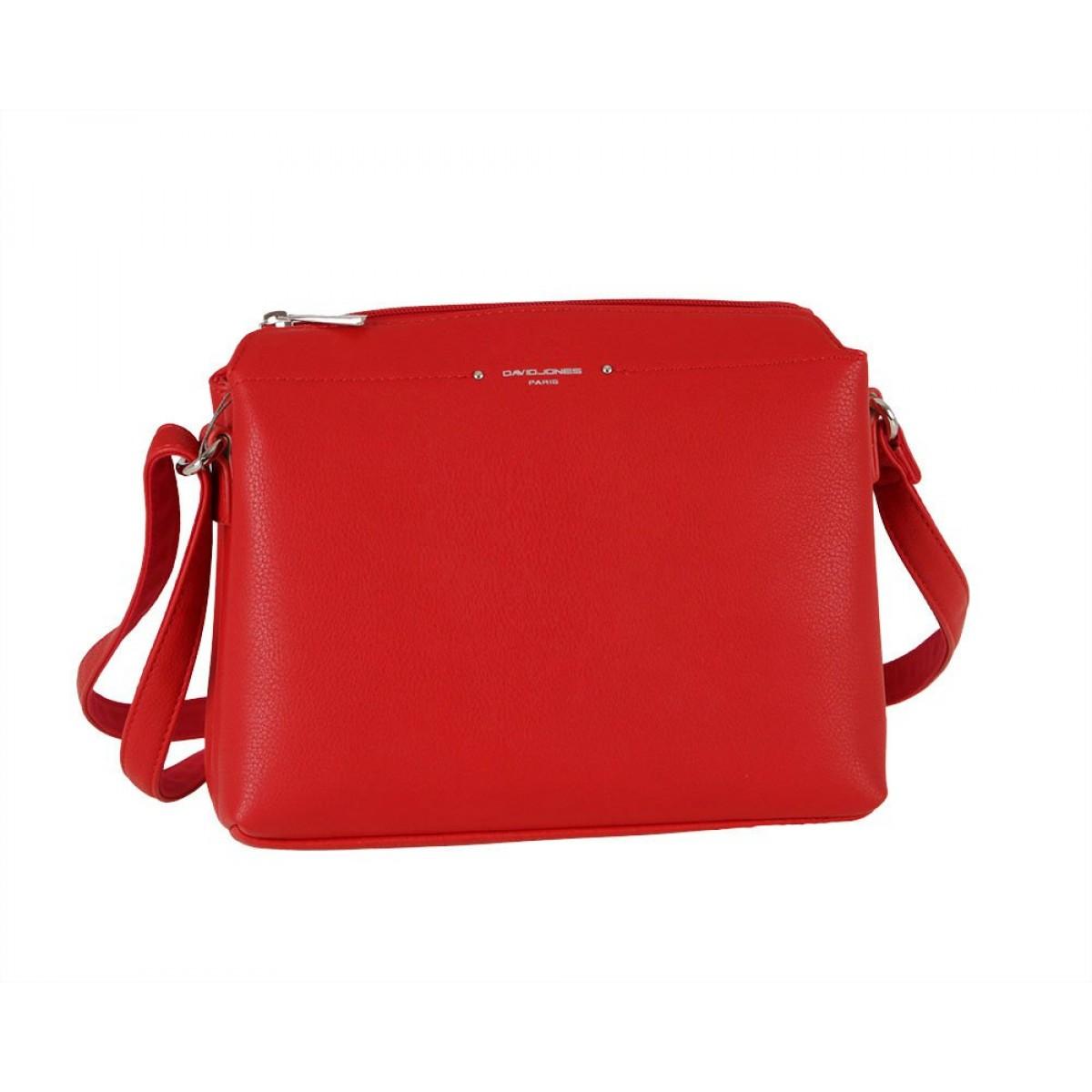 Жіноча сумка David Jones CM6058 RED