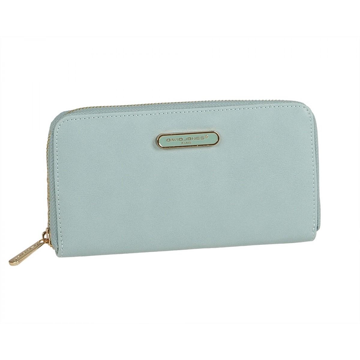 Жіночий гаманець David Jones P030-510 PALE BLUE
