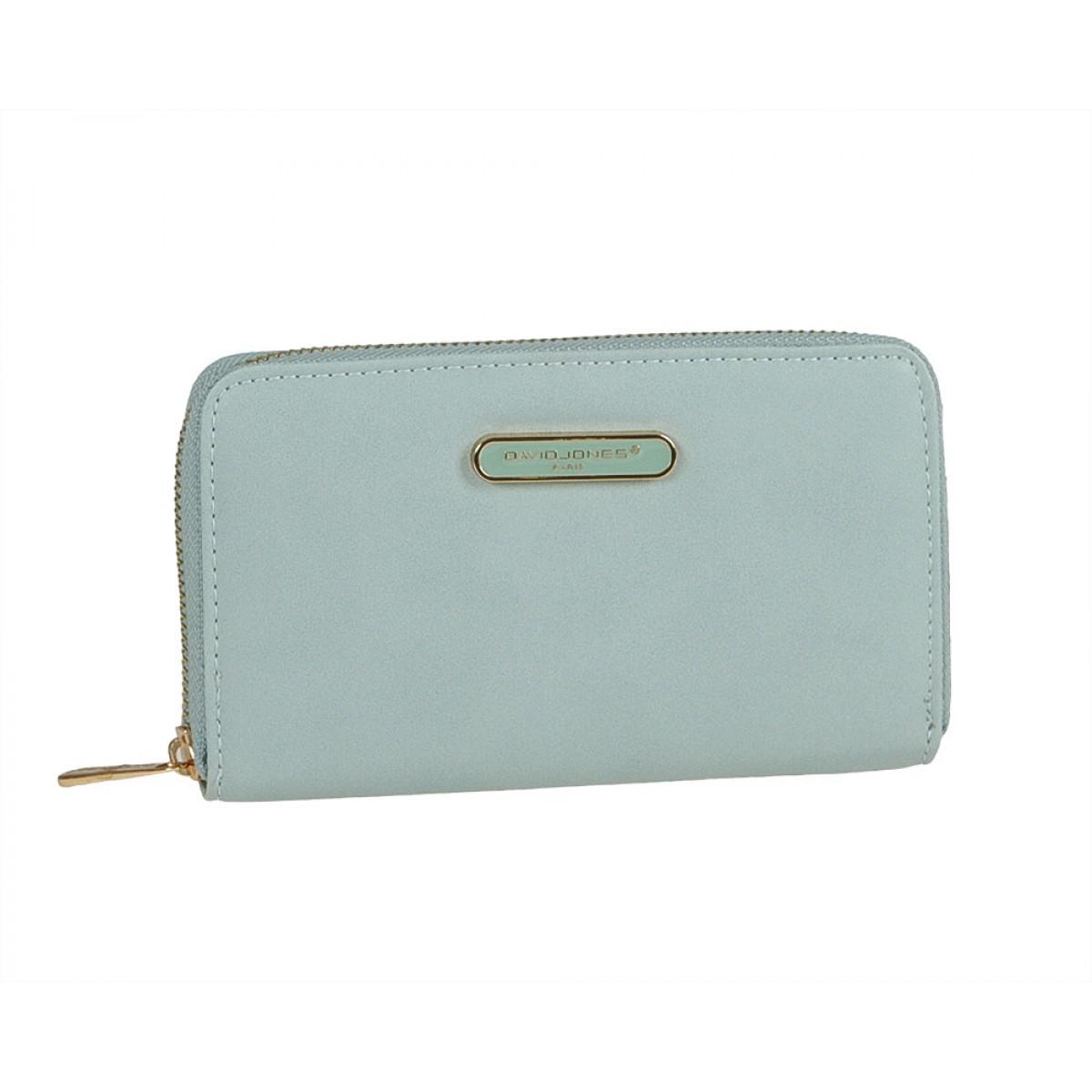 Жіночий гаманець David Jones P030-610 PALE BLUE